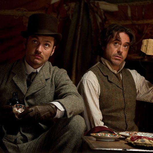 Sherlock Holmes: Spiel im Schatten / Jude Law / Robert Downey Jr.