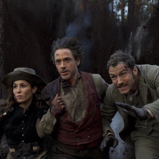 Sherlock Holmes: Spiel im Schatten / Noomi Rapace / Robert Downey Jr. / Jude Law