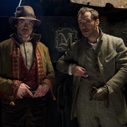 Sherlock Holmes: Spiel im Schatten / Robert Downey Jr. / Jude Law
