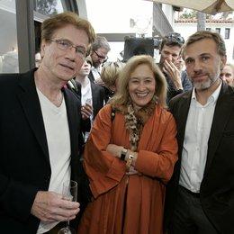 Prochnow, Jürgen / Haffter, Petra / Waltz, Christoph / German Films-Empfang in der Villa Aurora, Los Angeles Poster