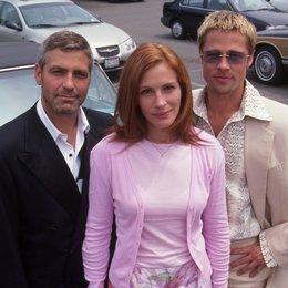Ocean's Eleven / George Clooney / Julia Roberts / Brad Pitt Poster