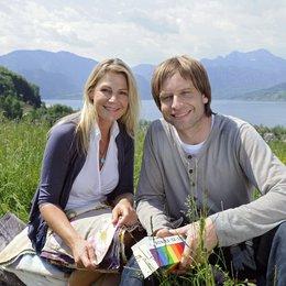 Lilly Schönauer: Wo die Liebe hinfällt (ARD / ORF) / Sophie Schütt / Julian Weigend Poster