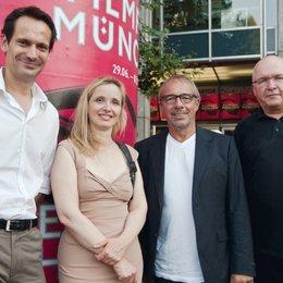 30. Filmfest München / Senator stellt Programm vor / Ulf Israel, Julie Delpy, Helge Sasse und Peter Heinzemann Poster