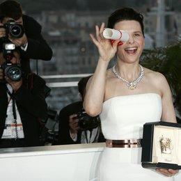 Juliette Binoche / 63. Filmfestival Cannes 2010 Poster