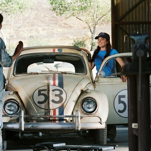 Herbie Fully Loaded / Justin Long / Lindsay Lohan Poster