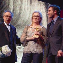 62. Internationale Filmfestspiele Berlin - Berlinale / Dieter Kosslick, Meryl Streep und Jake Gyllenhaal Poster