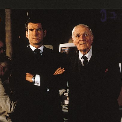 James Bond 007: Die Welt ist nicht genug / Pierce Brosnan / Desmond Llewelyn / World Is Not Enough, The Poster