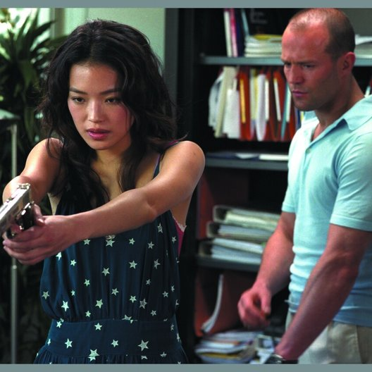 Transporter, The / Shu Qi / Jason Statham Poster