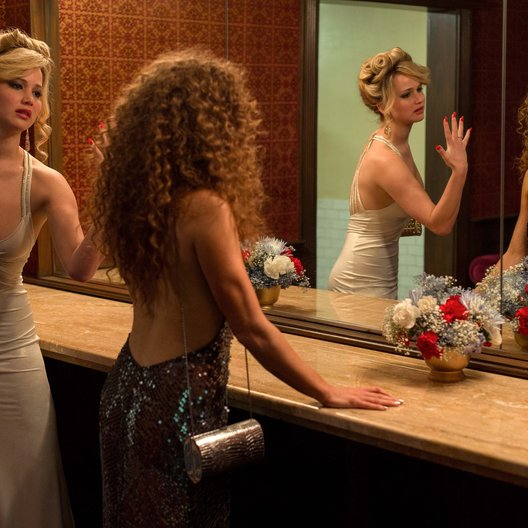 American Hustle / Jennifer Lawrence / Amy Adams Poster