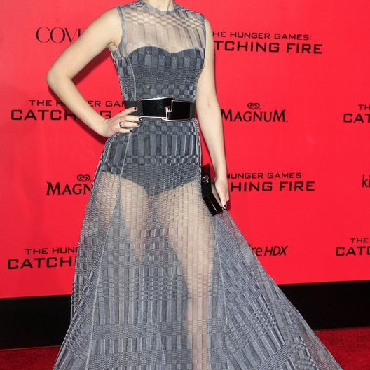 "Jennifer Lawrence / Filmpremiere ""Die Tribute von Panem - Catching Fire"" Poster"