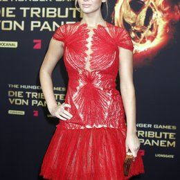 "Jennifer Lawrence / Filmpremiere ""Die Tribute von Panem - Hunger Games"" Poster"