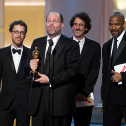 Scott Rudin, Ethan Coen, Joel Coen, Denzel Washington Poster