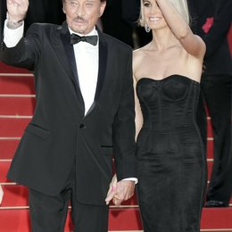 Hallyday, Johnny und Frau Laetitia / 62. Filmfestival Cannes 2009 / Festival International du Film de Cannes Poster