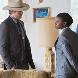 Justified / Timothy Olyphant / Erica Tazel Poster