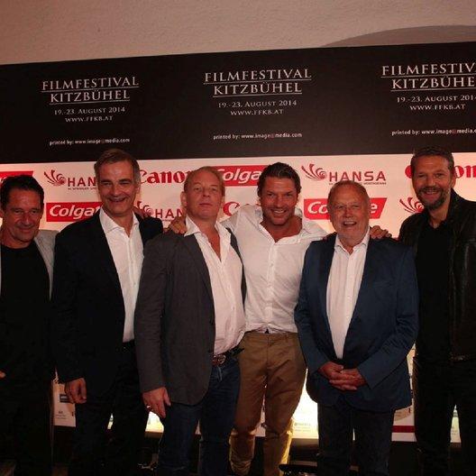 Filmfestival Kitzbühel / Max Tidof / Heinrich Schafmeister / Ben Becker / Hardy Krüger jr. / Joseph Vilsmaier / Kai Wiesinger Poster