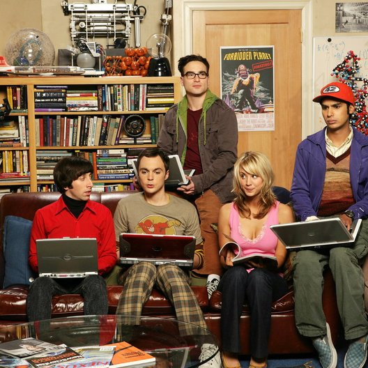 Big Bang Theory, The / Johnny Galecki / Jim Parsons / Kaley Cuoco / Kunal Nayyar / Simon Helberg Poster