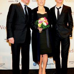 """Deutschlandpremiere von """"Der Vorleser"""" auf der 59. Berlinale / Ralph Fiennes, Kate Winslet und David Kross Poster"""