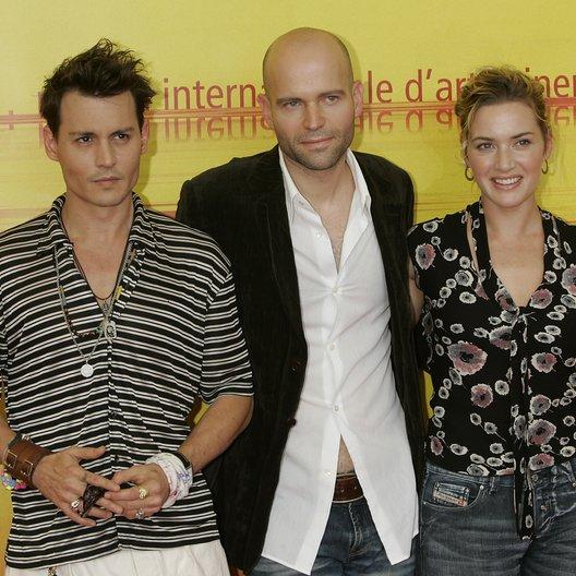 Filmfestspiele Venedig 2004 / Johnny Depp / Marc Forster / Kate Winslet / Finding Neverland Poster