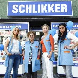 Schlikkerfrauen (AT), Die (Sat.1) / Sonja Gerhardt / Katharina Thalbach / Shadi Hedayati / Annette Frier Poster