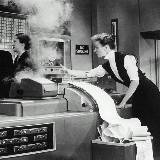 Frau, die alles weiß, Die / Katharine Hepburn Poster