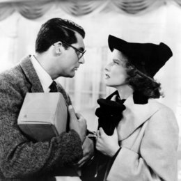 Leoparden küßt man nicht / Cary Grant / Katharine Hepburn Poster