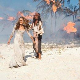 Fluch der Karibik / Johnny Depp / Keira Knightley Poster