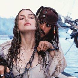 Fluch der Karibik / Keira Knightley / Johnny Depp Poster