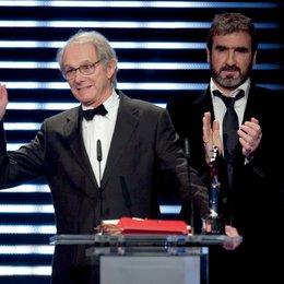 22. Verleihung des Europäischen Filmpreises in Bochum / Ken Loach und Eric Cantona Poster