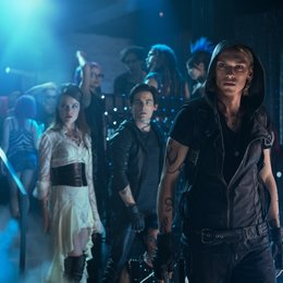 Chroniken der Unterwelt - City of Bones / Jemima West / Kevin Zegers / Jamie Campbell Bower Poster