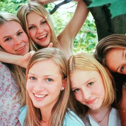 Virgin Suicides, The / Kirsten Dunst / Hanna R. Hall / Chelse Swain / A.J. Cook / Leslie Hayman Poster