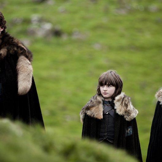Game of Thrones / Isaac Hempstead Wright / Kit Harington Poster