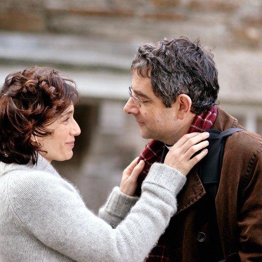 Mord im Pfarrhaus / Kristin Scott Thomas / Rowan Atkinson Poster