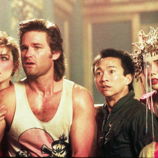 Big Trouble in Little China / Kim Cattrall / Kurt Russell Poster