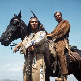 Karl May Box III - Winnetou reitet wieder / Winnetou I / Pierre Brice / Lex Barker Poster