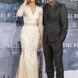 "Kate Beckinsale / Len Wiseman / Filmpremiere ""Total Recall"" Poster"
