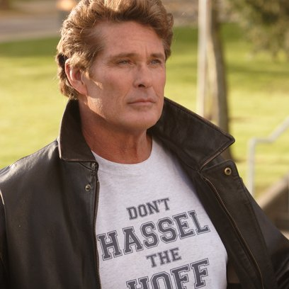 Kickin' It Old Skool / David Hasselhoff Poster
