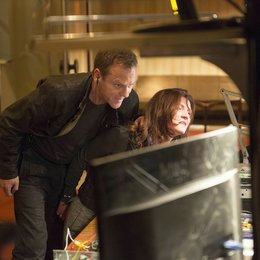 24: Live Another Day (9. Staffel, 12 Folgen) / Kiefer Sutherland / Michelle Fairley Poster