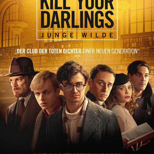 Kill Your Darlings - Junge Wilde / Kill Your Darlings Poster