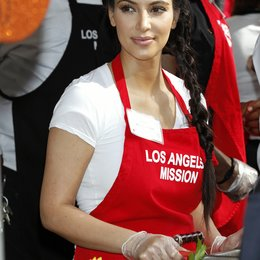 Kim Kardashian / Charity Thanksgiving in Los Angeles 2011 Poster