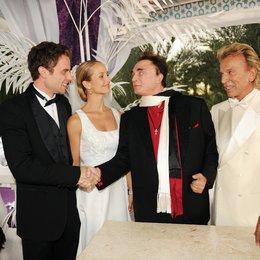 Kreuzfahrt ins Glück: Hochzeitsreise nach Las Vegas (ZDF / ORF) / Lara Joy Körner / Alexander Sternberg / Siegfried & Roy
