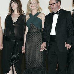 Charlotte Gainsbourgh / Kirsten Dunst / Lars von Trier / 64. Filmfestspiele Cannes 2011