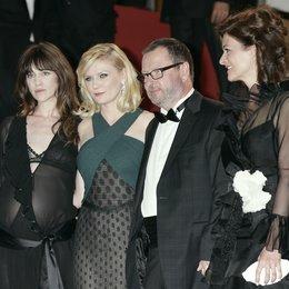 Charlotte Gainsbourgh / Kirsten Dunst / Lars von Trier / Bente Froge / 64. Filmfestspiele Cannes 2011