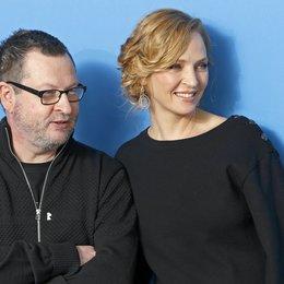 Trier, Lars von / Thurman, Uma / 64. Berlinale 2014