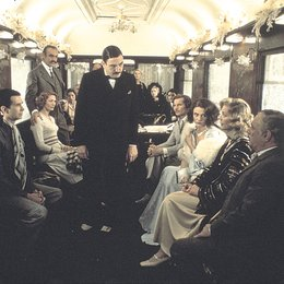 Mord im Orient-Express / Anthony Perkins / Vanessa Redgrave / Sean Connery / Albert Finney / Michael York / Jacqueline Bisset / Lauren Bacall Poster
