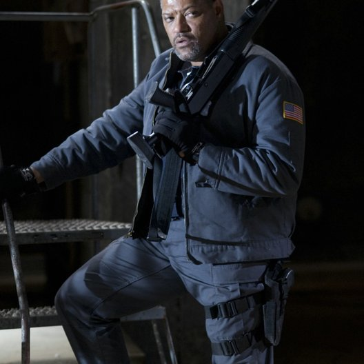 Armored / Laurence Fishburne Poster