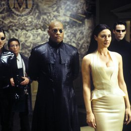 Matrix Reloaded / Carrie-Anne Moss / Randall Duk Kim / Laurence Fishburne / Monica Bellucci / Keanu Reeves Poster
