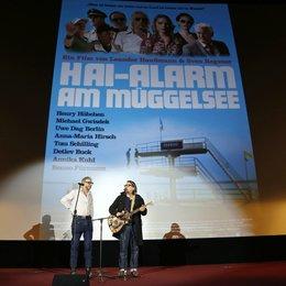 Warner Bros. Trade Show im Rahmen der Münchner Filmwoche 2013 / Leander Haußmann und Sven Regener
