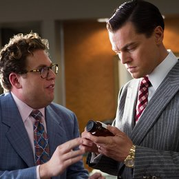 Wolf of Wall Street, The / Jonah Hill / Leonardo DiCaprio Poster