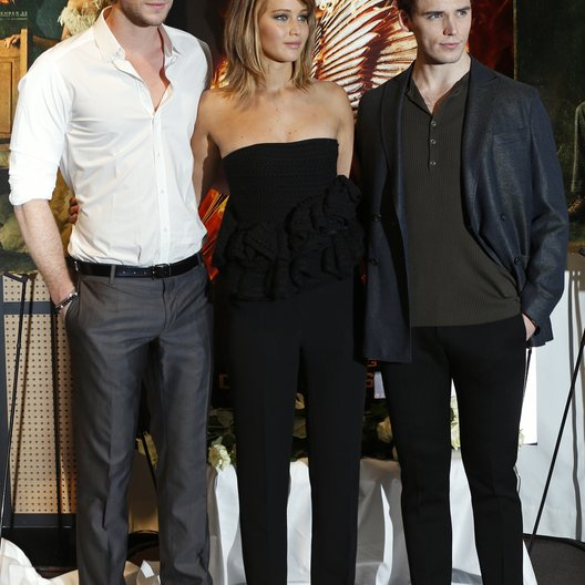 Hemsworth, Liam / Lawrence, Jennifer / Claflin, Sam / 66. Internationale Filmfestspiele von Cannes 2013 / Festival de Cannes Poster
