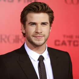 "Liam Hemsworth / Filmpremiere ""Die Tribute von Panem - Catching Fire"" Poster"